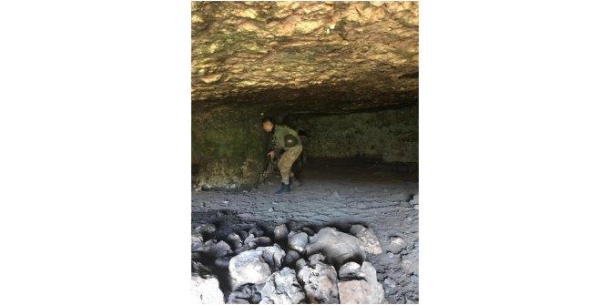 Şırnak'ta teröristlerin kullandığı 35 mağara bulundu