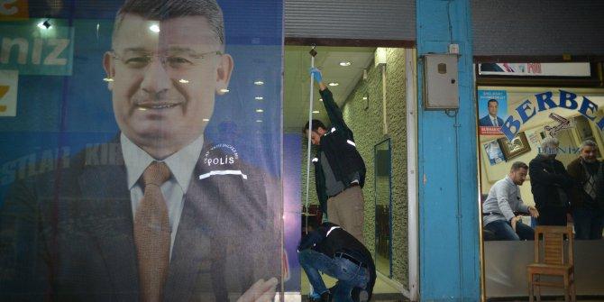 Adana'da AK Parti'nin seçim bürosuna molotoflu saldırı