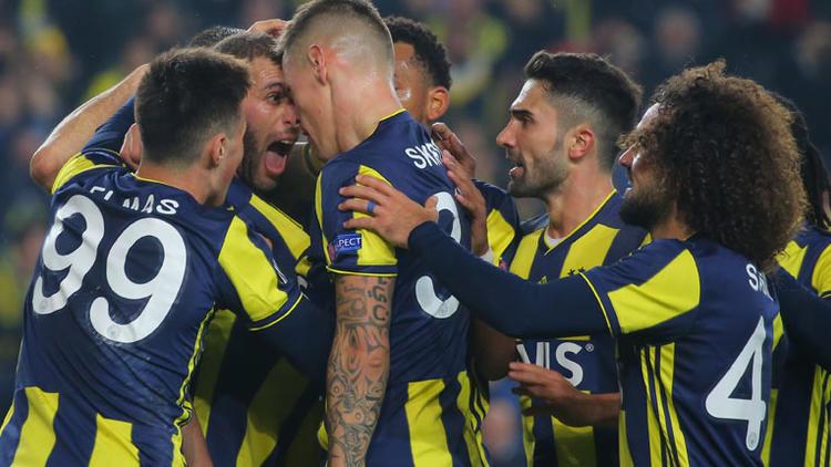 Fenerbahçe UEFA'da tur kapısını araladı