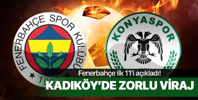 Fenerbahçe Konyaspor maçı ne zaman saat kaçta? İlk 11'ler belli oldu