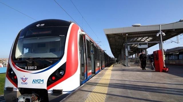Gebze-Halkalı tren hattı seferleri bugün başladı