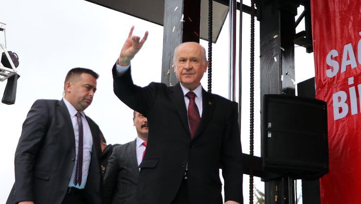 Devlet Bahçeli, Çankırı'da halka hitap etti