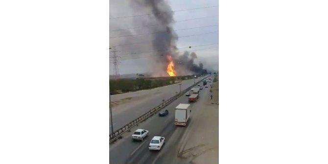 İran'da gaz boru hattında patlama, 5 ölü