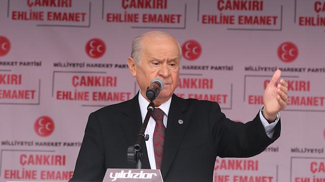 MHP Lideri Bahçeli'den Aksaray'dan önemli açıklamalar