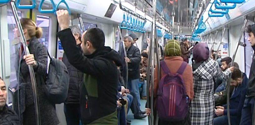 Gebze Halkalı Banliyö Tren hattına halk yoğun ilgi duyuyor