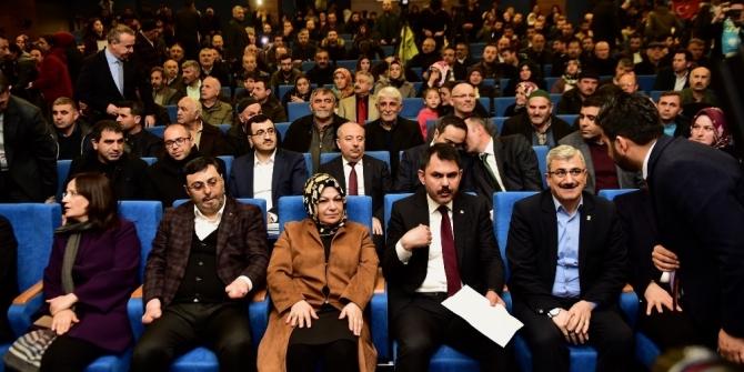 Çevre ve Şehircilik Bakanı Murat Kurum Sancaktepelilerin tapu ve imar sorularını cevapladı