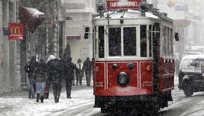 Meteoroloji uyardı! Çok yoğun kar yağışı geliyor!