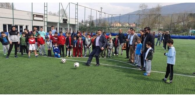 Kurtköy Spor Futbol okulu açıldı