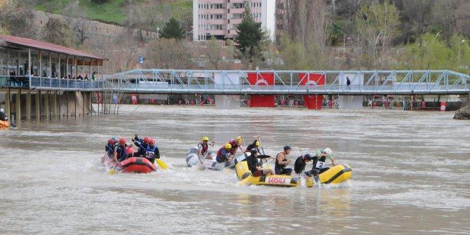 Tunceli'de Dünya Rafting Şampiyonası hazırlıkları