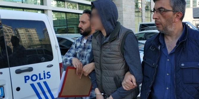 Çocuğun telefonunu gasp eden zanlı tutuklandı