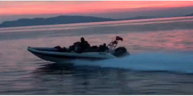 Sürat teknesi ve yatlarla göçmen kaçakçılığına nefes kesen operasyon