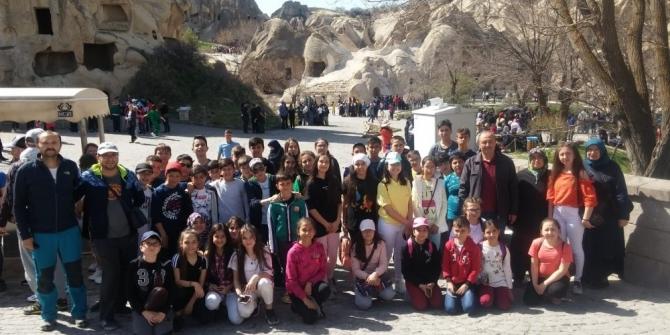 19 Mayıs Ortaokulu'ndan Kapadokya gezisi