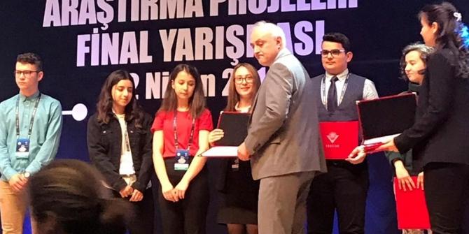 Muğla BİLSEM Türkiye Üçüncüsü