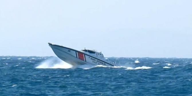 Sür'at tekneleri ile göçmen kaçakçılığı yapanlara nefes kesen operasyon