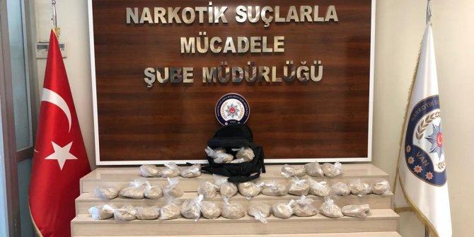 Van'da 47 kilo 900 gram eroin ele geçirildi