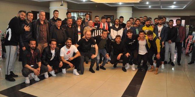 Nazilli Belediyespor'dan Başkan Özcan'a ziyaret