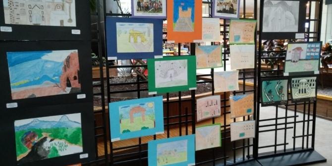'Gezici Renklerin Sohbeti' isimli resim sergisi büyük ilgi gördü
