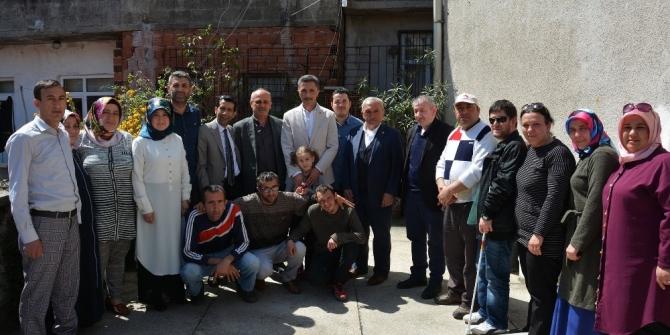 Başkan Kaya'dan engellilere destek