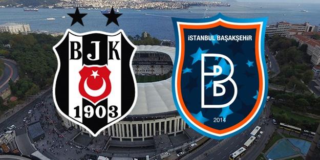 Beşiktaş 1-0 geriye düşmüştü! Başakşehir'i mağlup etti