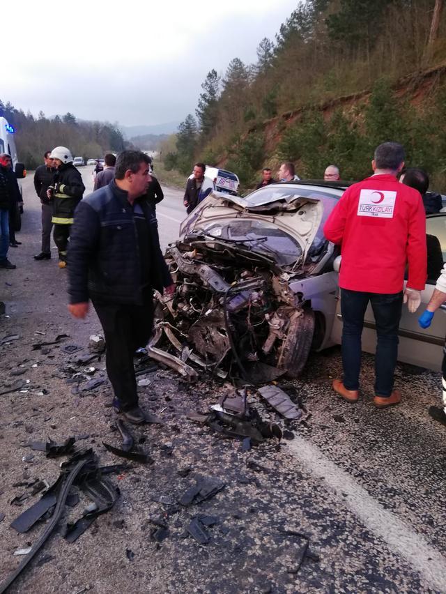 Bursa'da meydana gelen kaza sonucu 2 kişi öldü!