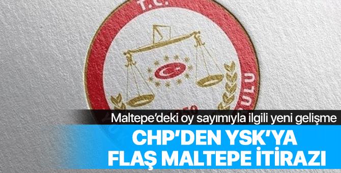 CHP'den YSK'ya flaş Maltepe başvurusu!