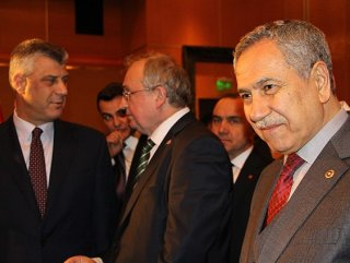 Arınç Kosova'nın bağımsızlığının 7. yıl dönümünü kutladı