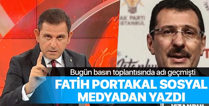 Fatih Portakal'dan Ali İhsan Yavuz'a cevap geldi