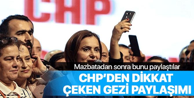 CHP'den mazbatanın ardından dikkat çeken paylaşım