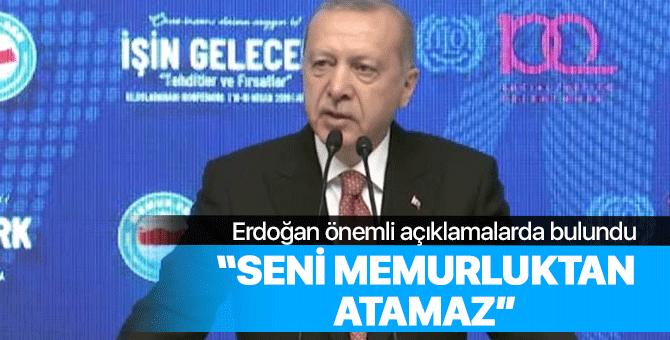 Recep Tayyip Erdoğan önemli açıklamalarda bulundu