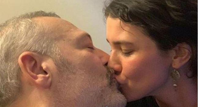 Levent Üzümcü'nün öpüşme görüntüleri sosyal medyaya bomba gibi düştü