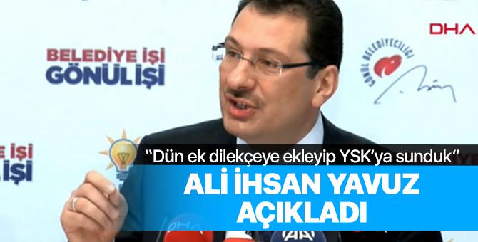 Ali İhsan Yavuz o sayıyı açıkladı: Tam 19 bin 742 kişi!