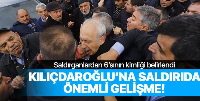 Kılıçdaroğlu'na saldırıda önemli gelişme!