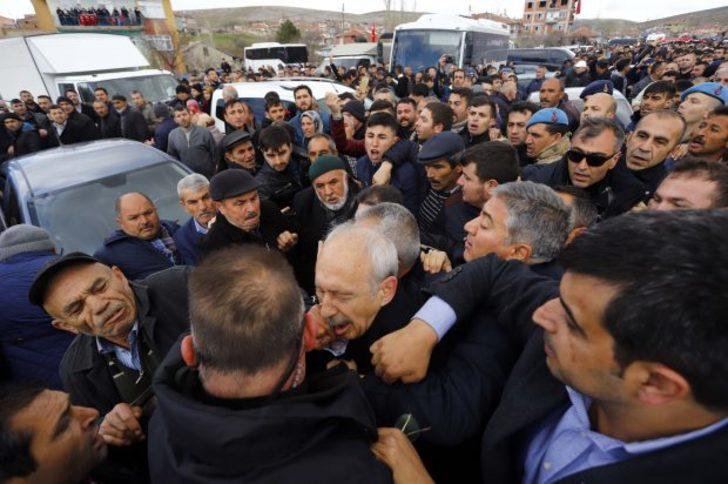 Kemal Kılıçdaroğlu'na yumruk atan zanlı yakalandı!