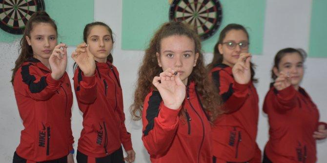 Okulun bodrum katında antrenmanla Türkiye şampiyonu oldular