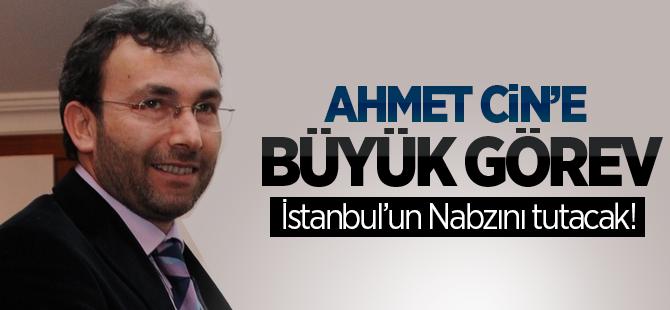 Ahmet Cin İstanbul SKM Başkanı Oldu