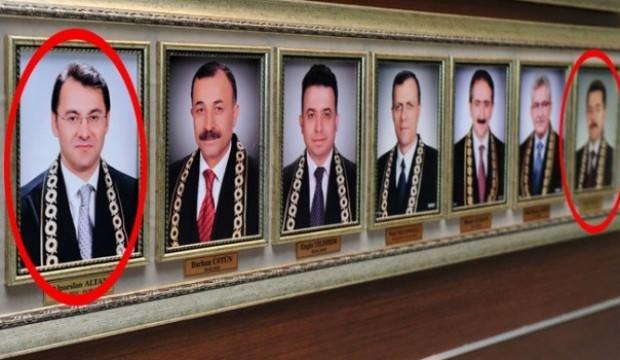 AYM salonunda FETÖ'cülerin resimleri dikkat çekti