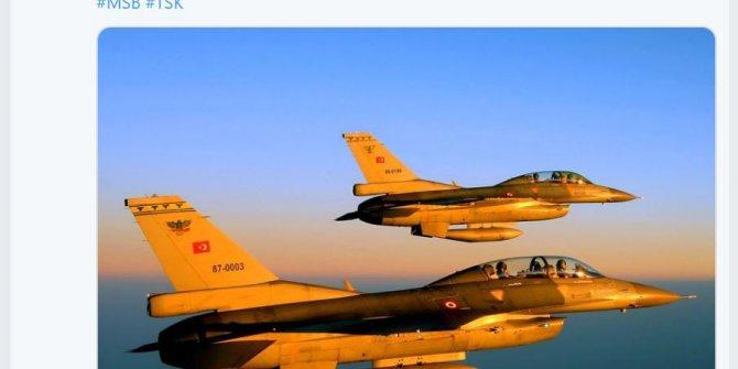 Irak kuzeyinde PKK hedefleri imha edildi