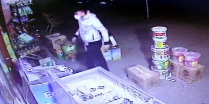 Toz maskeli market soyguncusu tutuklandı