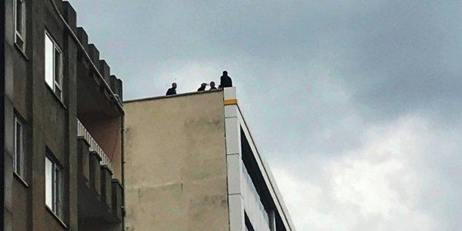 Aynı binada 7'nci kez intihara kalkıştı