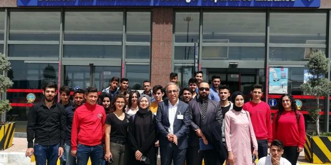 Oğuzeli MYO öğrencilerinden Gaziantep Havalimanı'na teknik gezi