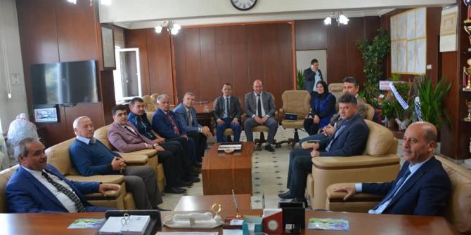 Başkan Bozkurt'tan Başkan Şahin'e hayırlı olsun ziyareti