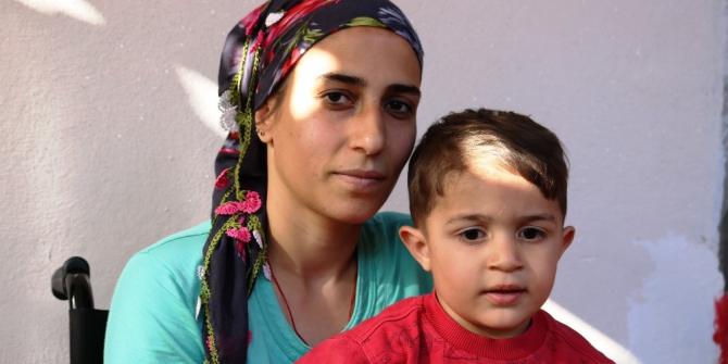İHA'nın haberi ses getirdi, Bağlar Kaymakamlığı aileye gerekli desteği sağladı