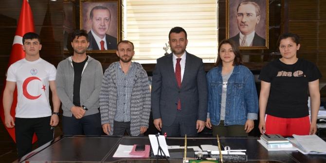 """Başkan Doğan: """"Spora ve sporcuya destek olacağız"""""""