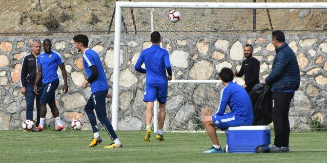 Evkur Yeni Malatyaspor'da Akhisarspor hazırlıkları devam etti