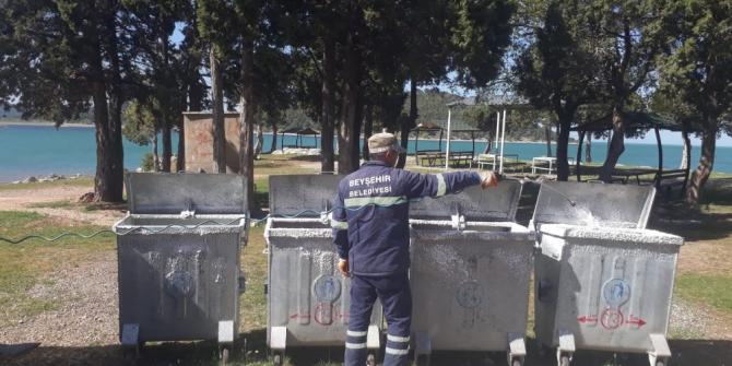 Beyşehir Belediyesi temizlikte yeni bir döneme başladı