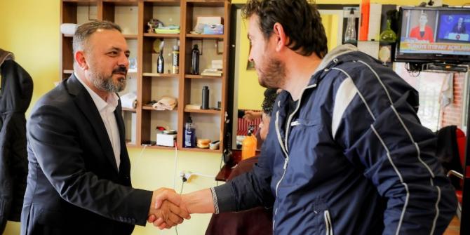 Başkan Ercan, Törekent esnafı ile buluştu