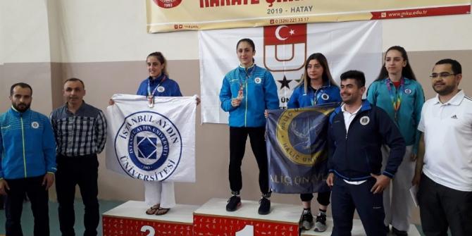 ETÜ Spor Bilimleri Fakültesi Öğrencisi Türkiye Karate Şampiyonu oldu