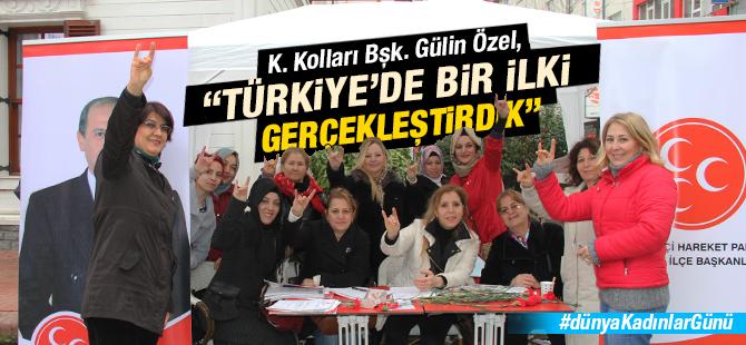 """Gülin Özel, """"Türkiye'de Bir İlki Gerçekleştirdik"""""""