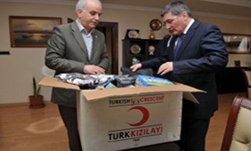 Pendik Türk Kızılayına Alkış