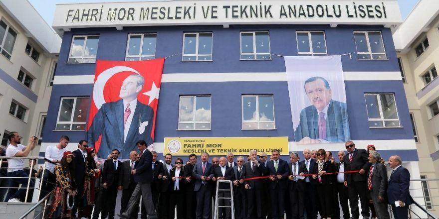 Fahri Mor Mesleki ve Teknik Anadolu Lisesi'nin açıldı